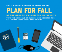 Plan for Fall - View the Schedule of Classes and Register for Fall Courses
