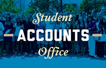 Promo link to the Student Accounts Office